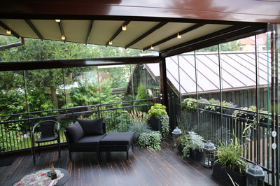 our deck looks fantastic and is now a cool extension of your home, thanks to our new Porolet system