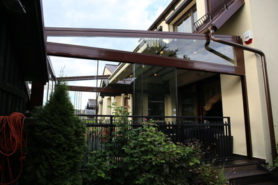 When considering a glass canopy for your home or business, it is important to consider its durability. A quality canopy will be both attractive and strong.