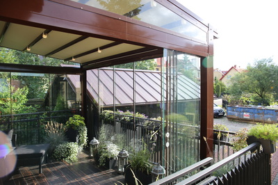 Canopies embrace a traditional style of architecture, but that doesn't limit their scope of possible applications.