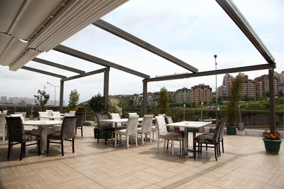 The Porolet pergola - Excellent returns on the investment with additional revenue from extra customers.