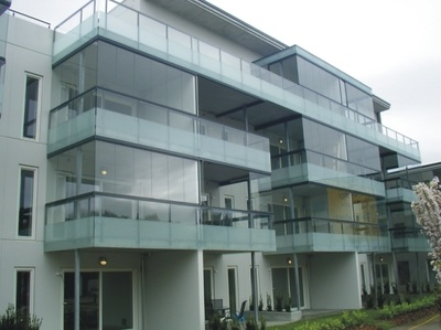 It's protection for your balcony. Our systems have been designed to cover and protect your balcony with style.